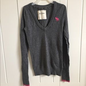 Abercrombie and Fitch Kids v neck sweater